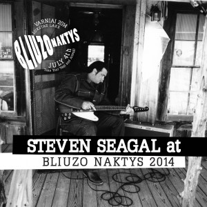 Steven Seagal Concert poster