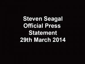 official press statement 29th march 2014