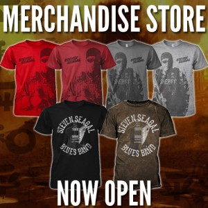 Steven Seagal Official Merchandise Store