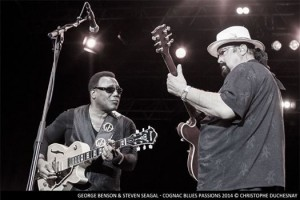 Steven Seagal and George Benson live at the Cognac Fesitival 2014